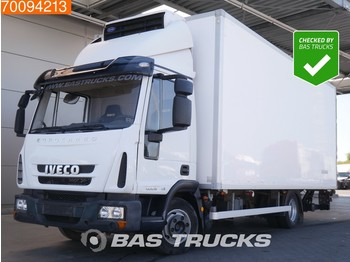 Camion frigorifique Iveco Eurocargo 80E18 4X2 Manual Ladebordwand Euro 5