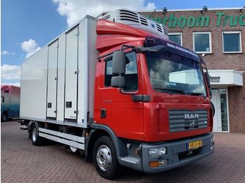 MAN TGL 12.210 KUHLKOFFER THERMOKING MULTI TEMP HOLLAND TRUCK - camion frigorifique