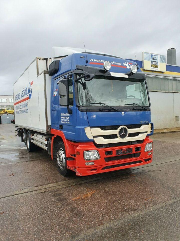 camion frigorifique Mercedes-Benz Actros 2544 LL Kühl Carrier 850 Standard Intarde