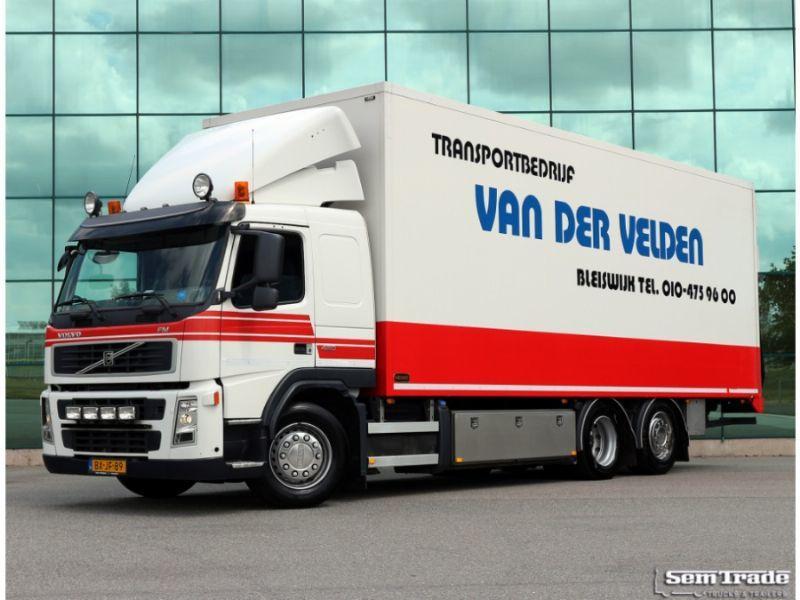 camion frigorifique volvo fm 420 6x2 eev slaapcabine warmwater