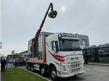 Volvo FH 540 10X4 - ONLY 247.536 KM + PALFINGER EPSILO  - camion grue