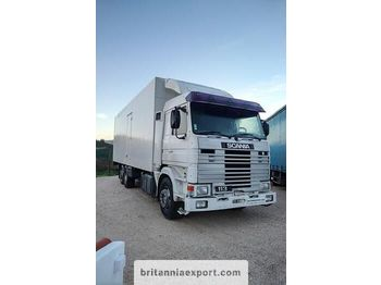 SCANIA R 113M 380 left hand drive 6X2 26 ton cold room - camion isothermique