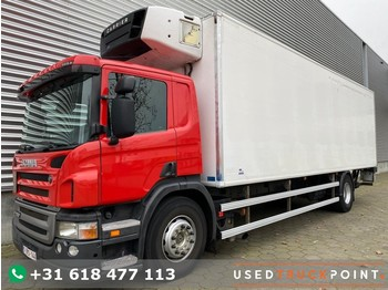 Scania P280 / Opti Cruise / Euro 5 / Back Doors / Tail lift / Carrier Supra 1000 City / Belgium Truck - camion isothermique