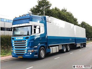 Camion isothermique Scania R 480 Euro 5 / Retarder / Flower Combi READY FOR WORK / 48CC