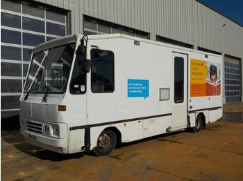 2004 DAF 4x2 Mobile Library Box Lorry, Reverse Camera - camion magasin