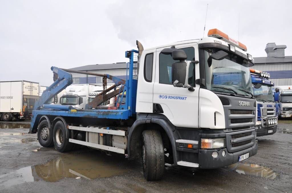camion multibenne SCANIA P420LB6X2*4HNB