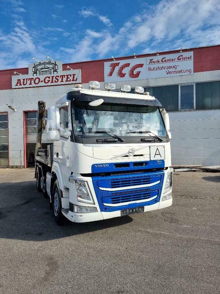 camion multibenne Volvo FM 460 Absetzkipper 6x2 VorlaufLiftachse, Euro6