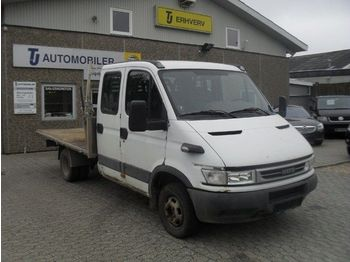 Camion plateau IVECO Daily 3,0 35C14 Db.Cab m/lad