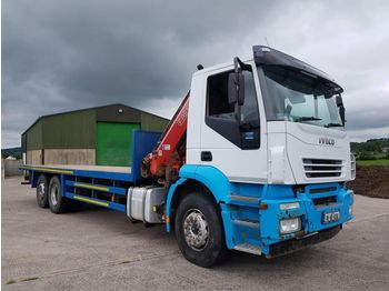 IVECO Stralis 260 - camion plateau