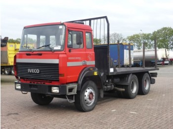 Camion plateau Iveco 330-30 6X4 MANUAL WATER COO