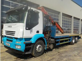 Iveco Stralis - camion plateau