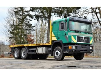 MAN 26.402 6x4 1994 - flatbed - camion plateau