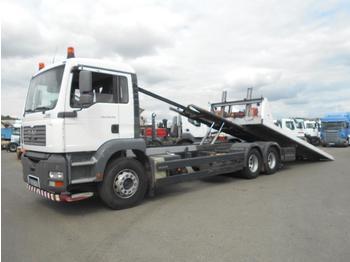 Camion plateau MAN TGA 28.350