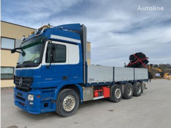 MERCEDES-BENZ Actros 3460 8x4+HYDRAULICS+RETARDER - camion plateau