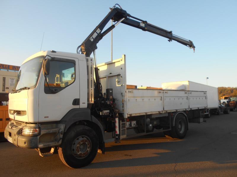 camion plateau Renault Kerax 260