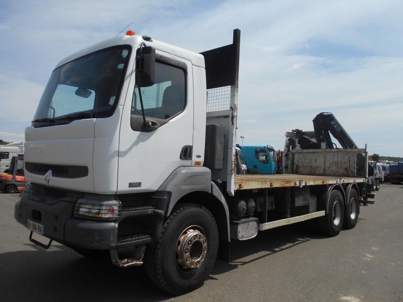 camion plateau Renault Kerax 320