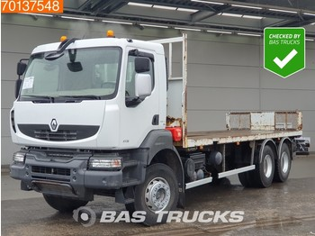 Renault Kerax 410 6X4 Big-Axle SteelSuspension Euro 4 - camion plateau
