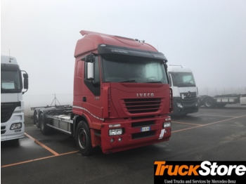Camion plateau ridelle Iveco STRALIS 430