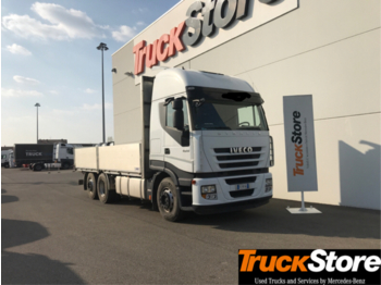 Camion plateau ridelle Iveco STRALIS AS 440S45T