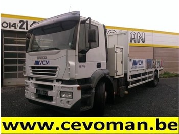 Iveco Stralis 270 - camion plateau ridelle