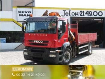Iveco Stralis 360 - camion plateau ridelle