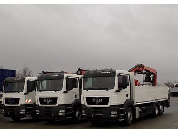 MAN 26.440 TGS - camion plateau ridelle