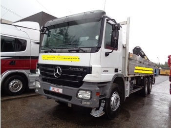 Mercedes-Benz Actros 2636 HIAB 144 B3 - camion plateau ridelle