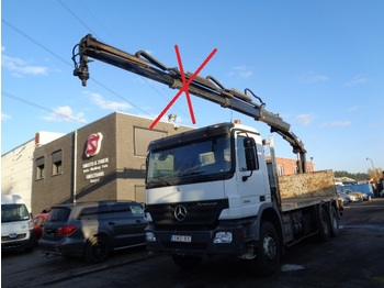 Camion plateau ridelle Mercedes-Benz Actros 3341 eps chassis