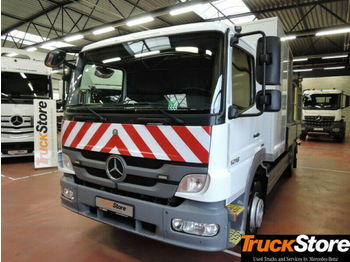 Mercedes-Benz Atego 1216 L S-Fahrerhaus ABS Klima Airbag 4x2  - camion plateau ridelle