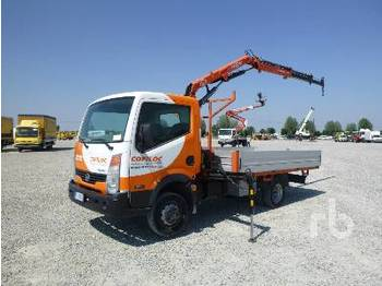 NISSAN CABSTAR 35.11 - camion plateau ridelle