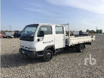 NISSAN CABSTAR Crew Cab - camion plateau ridelle