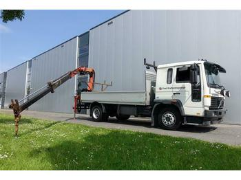 Volvo FL6.250 4X2 WITH PALFINGER PK7000  - camion plateau ridelle
