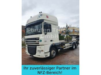 Camion porte-conteneur/ caisse mobile DAF XF 105 410 SSC EEV 6X2 BDF Twistlock Fahrgestell