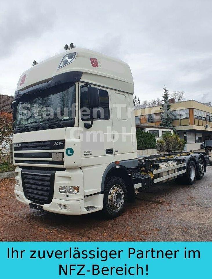 camion porte-conteneur/ caisse mobile DAF XF 105 410 SSC EEV 6X2 BDF Twistlock Fahrgestell