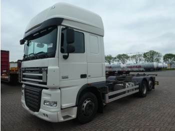DAF XF 105.460 ssc intarder 441tkm - camion porte-conteneur/ caisse mobile