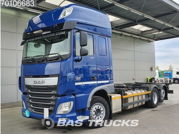 Camion porte-conteneur/ caisse mobile DAF XF 460 SSC 6X2 Intarder Liftachse Euro 6