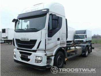 Iveco Iveco Stralis AS 260 S 48 Stralis AS 260 S 48 - camion porte-conteneur/ caisse mobile