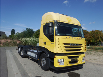 Iveco Stralis AS 260 S 42 - ZF-Intarder - KLIMA - AHK - camion porte-conteneur/ caisse mobile
