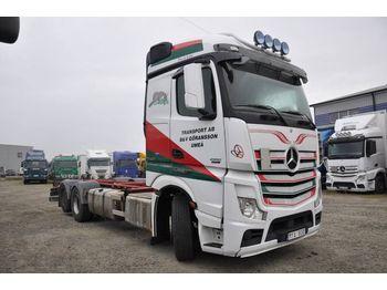 Camion porte-conteneur/ caisse mobile MERCEDES-BENZ 2551 / 963-0-C