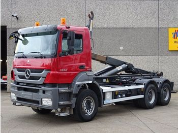 Mercedes-Benz AXOR 2636 6X4 CONTAINERSYSTEEM-HAAKSYSTEEM - camion porte-conteneur/ caisse mobile