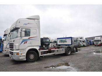 Camion porte-conteneur/ caisse mobile SCANIA R480