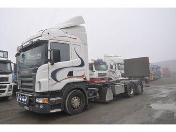 Camion porte-conteneur/ caisse mobile SCANIA R500 LB MNB