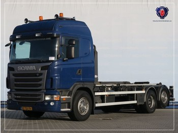 Camion porte-conteneur/ caisse mobile Scania G400 LB6X2MNA | HOOKLIFT SYSTEM | ABROLLKIPPER | VDL HAAKARM