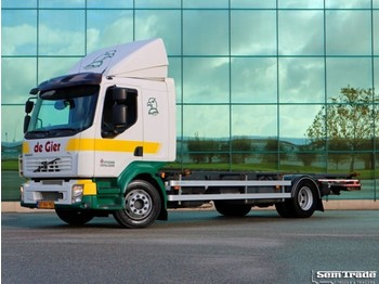 Volvo FL 12.280 CITIPRO EURO 5 AIRCO MANUAL GEARBOX - camion porte-conteneur/ caisse mobile