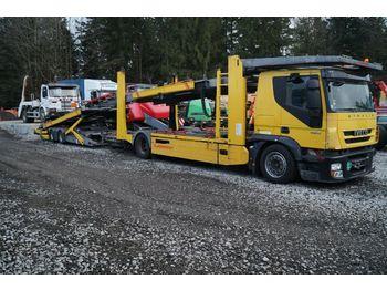 Camion porte-voitures Iveco Stralis 190S42 EEV mit Kässbohrer Variotrans