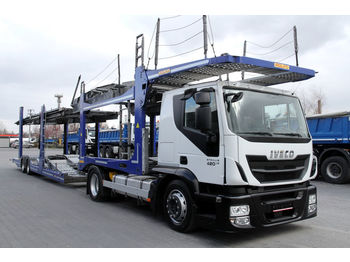 MERCEDES-BENZ MERCEDES-BENZ ROLFO Stralis 420 /E6/low-deck/150k km/Rolfo body LOHR Stralis 420 /E6/low-deck/150k km/Rolfo body LOHR Arctic - camion porte-voitures