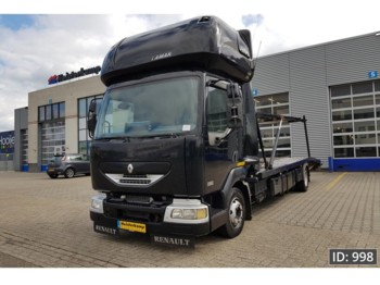 Camion porte-voitures Renault Midlum 210 HR, Euro 3, - for 2 cars -