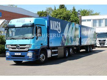 Camion pour le transport de boissons Mercedes-Benz Actros 2541 Retarder/Schwenkwand/Lenkachse/ZUG!