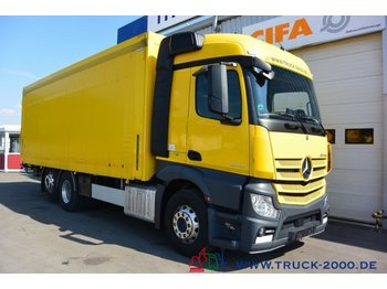 Camion pour le transport de boissons Mercedes-Benz Actros 2543 Stream Space Getränke Plane LBW 2 to