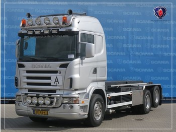 Scania R500-V8 LB6X2HHZ | V8 | OLD TACHO | MANUAL GEARING | NCH HTS CABLE SYSTEM - camion - système de câble
